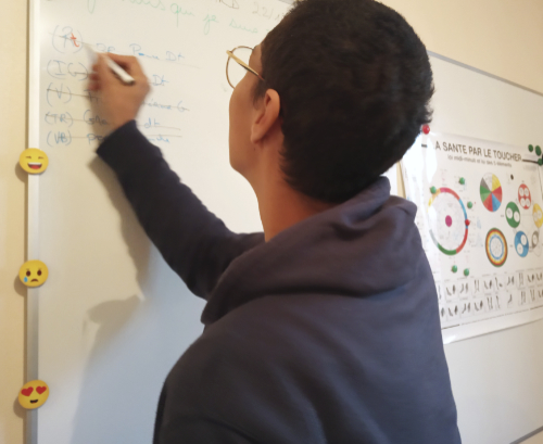 Etudiant en kinésiologie Touch For Health